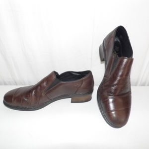 Rieker Antistress Brown Leather Loafers 6.5 - 7